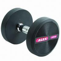 China ALEX TPU Dumbbell with Solid Fixed Construction wholesale