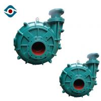 China Single Stage Horizontal Industrial Slurry Pumps With Fluoro Plastic Rubber Lined wholesale