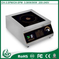 China 2015 Pratical commercial induction hob for kitchen use with 3.5kw wholesale