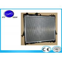 China Easy Installation Isuzu D MAX Radiator , Isuzu Car Radiator Replacement on sale