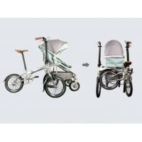 Buy cheap Custom Full Size Folding Electric Bike Family Children ' S Seat Folding Bicycle from wholesalers