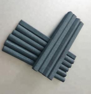 China 6 X 70 Mm Barium Ferrite Bar Magnets Round Small Ferrite Cylinder Magnet wholesale