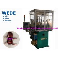 China Max 4mm Round Wire Coil Winding Machine With 3 Axis Servo Motor Flat Wire wholesale