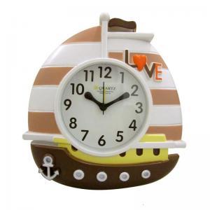 China Sailing Boat design digital alarm clock on sale