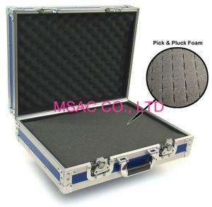 China Aluminum tool case/pick and pluck foam case/aluminum case on sale