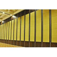 China Acoustic Wooden Sliding Partition Walls For Function Room / Exhibition Hall wholesale
