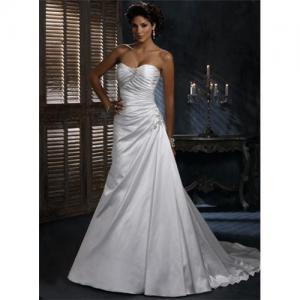China White Designer Cheap Wedding Dress wholesale