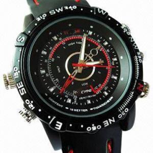 China Waterproof Cheap Hidden Camera Watch with 4GB Internal Memory wholesale