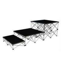 China Folding Aluminum Stage Platform Collapsible Convenient 200mm - 800mm Height wholesale