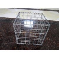 China Stone Cage Retaining Wall Gabion Baskets , Gabion Mesh Cage Easy To Install wholesale