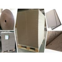 China SGS Certified Gray Paperboard Straw Board Paper Uncoated Recycled Folding Resistance wholesale