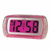 China foldable travel alarm table clock with bluelight ET630 wholesale