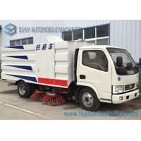 China Donfeng 4 X 2 Road Sweeper Truck Vacuum Sweeper Truck 103kw 140hp 5M3 wholesale