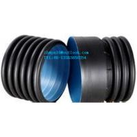 China Twin Wall Polyethylene Corrugated Pipe on sale