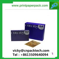 China Custom Packaging Boxes Modern Pure Color Printed Premuim Matte Color Jewelry Boxes Hair Packaging Boxes on sale