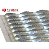 Buy cheap 3mm Stainless Galvanized Steel Grating High Strength Good Bearing Capacity from wholesalers