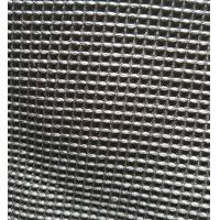 China Black Microfiber Waffle Fabric  300gsm 150cm Width For Beddings Clothes wholesale
