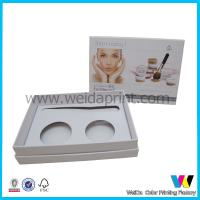 China Fashion Customize  Paper Packaging Boxes with Insert for Cosmetic wholesale