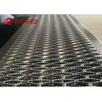 China Hot Dipped Galvanized Plate Perforated Metal Mesh Safety Grating Walkway Anti - Rust wholesale