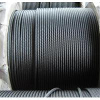 China Organic Core Stainless Steel Wire Rope For Construction 5.0mm-28mm Dia wholesale