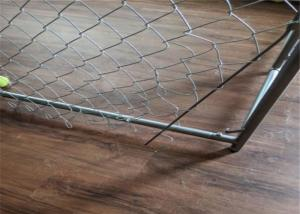 China 3.70mm Diameter Chain Link Mesh Fence 50x50mm Opening Electro Gi Wire wholesale
