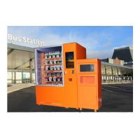 China Quick Stop Microwave Heated Sushi Lunch Box Vending Machine With Remote Control wholesale