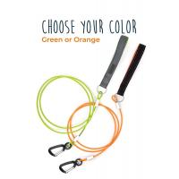 China Waterproof Chew Proof Dog Leash 6' Cable Lead Steel Braided Cord With Padded Handle wholesale