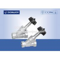 China Thread Connection Adjust Angle Seated Valves , Slanted Seat Valve General Switch wholesale