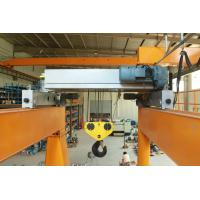 China 10T Double Girder Electric Wire Rope Hoist Low Headroom Crane European Design on sale
