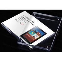 China A4 Size Clear Insert Decca Clear Plastic Display Stands Holder Advertising on sale