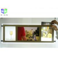 China Ceiling Hanging LED Acrylic Sheet Light Box 1300 MM X 900 MM Energy Saving wholesale