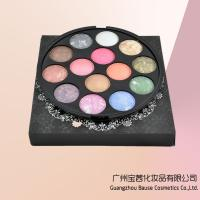China 14 Color Mineral Eyeshadow Palette Baked Powder wholesale