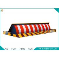 China Manual Vehicle Retractable Barrier Gate 380 V Security Road Blocker wholesale