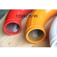 China Twin Wall Concrete Pump Pipe 65HRC For Zoomlion Truck Mounted Boom Pump wholesale
