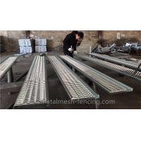 China Hot Dipped Zinc Coated Girp Strut Grating 4mm Thickness Heavy Duty Grating wholesale