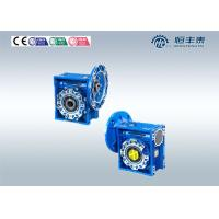 China Motor Worm Flange Mounted Gearbox , Worm Gear Speed Reducer Low Noise wholesale