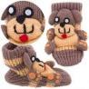 China Cute High sweat logo customizable warm novelty kid socks with unique design wholesale