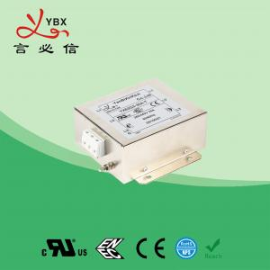 China Low Loss 3 Phase Power Line Filter For High Power Office Equipment on sale