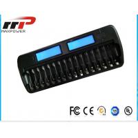 China 16 Slot AA AAA LCD Battery Charger NIMH NiCad Alkaline Batteries wholesale