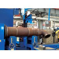 China Tube Flange MIG / MAG / CO₂ Automated Welding Machines For Tube Intersection Line wholesale