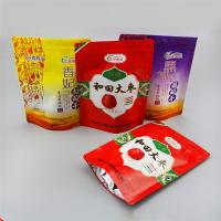 China Aluminum Foil  + PET + PE Stand Up Ziplock Bags For Dried Red Dates Packaging wholesale