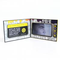 China LCD Card Video Brochure Video Plus Print In Book Rechargeable 300-2000mA Battery wholesale