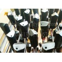 China 7° Flat Chipways Rock Drill Bits , Taper Chisel Bit To Variety Rock Formations wholesale