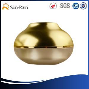 China Glass bowl type Cosmetic Plastic Cosmetic Jars , body cream jars on sale