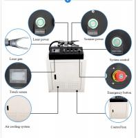 60W Non Contact Laser Rust Removal Machine Safety And Environmental Protection