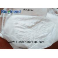 China Androgenic Anabolic Steroids Anavar Oxandrolone White Crystalline Powder CAS 53-39-4 wholesale