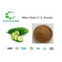 China Plant Extract Bitter Melon Extract Powder Organic Herbal Powder Charantin wholesale