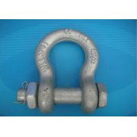 China High Strength Forged Shackle Used for Tract Wire Rope and Other Tools in Construction wholesale