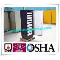 China Fireproof 4 Drawer Anti Magnetic File Cabinet ,  Safey Fire Resistant File Cabinet For CD wholesale