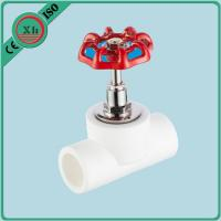 China Corrosion Resistant PPR Stop Valve 16 - 75 MM For Cold And Hot Water System wholesale